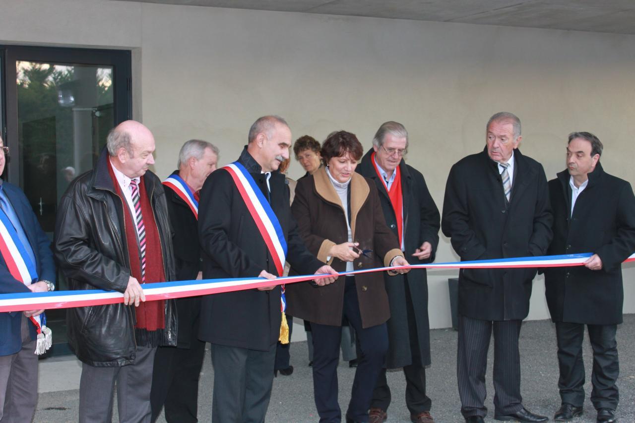 Inauguration salle des fêtes le 13 décembre 2014