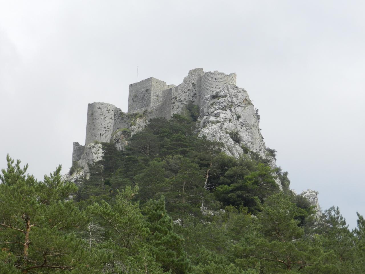 Château de Puilaurens (à 50km)