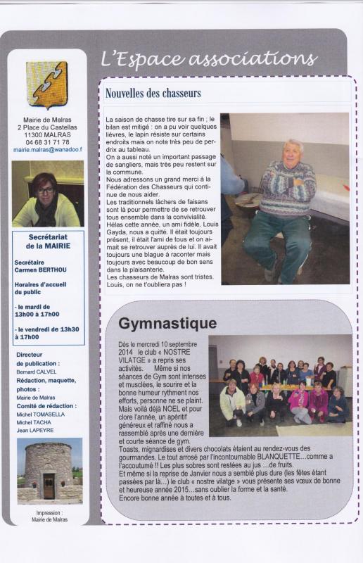 Journal 12 janvier 2015