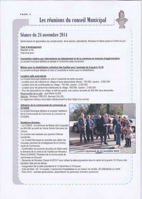 Journal 6 janvier 2015
