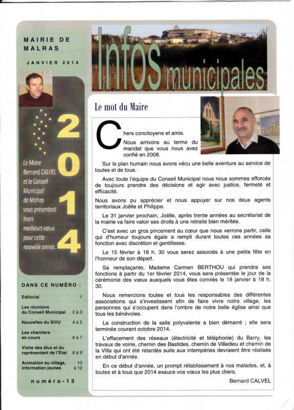 Journal janvier 2014 1
